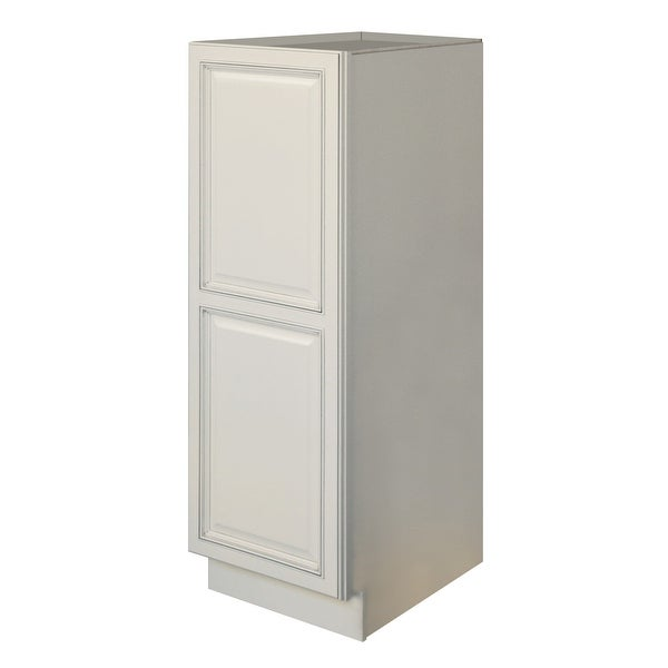 """Sunny Wood RLP1854B-A Riley 18"""" Wide x 54"""" High Single Door Pantry - White. Opens flyout."""
