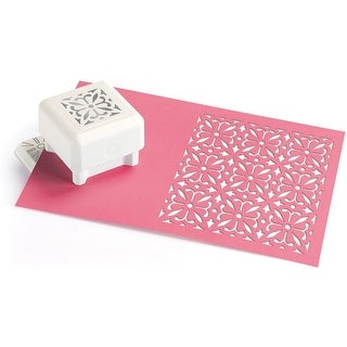 """Martha Stewart Punch All Over The Page Pattern Punch-Ornate Square, 1.5"""""""