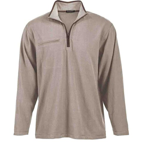 River's End Brushed Jersey 1/4 Zip