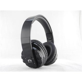 Inland ProHT 87099 Bluetooth Foldable Stereo Headset, Black