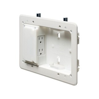 Monoprice Low Profile Recessed Box for Shallow Wall Depths