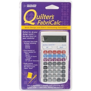 Quilter's Fabricalc Design & Fabric Estimating Calculator
