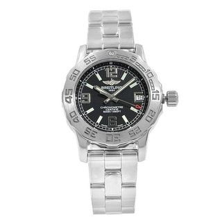 Link to Breitling Women's A7738711-BB51-158A 'Colt' Stainless Steel Watch - Black Similar Items in Women's Watches
