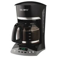 Mr. Coffee SKX23 Programmable Coffeemaker, 12 Cup, Black