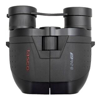 Tasco ES82425Z 8-24x25 Essentials Porro-Prism Binoculars (Black)