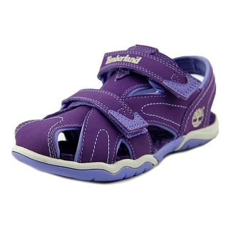 Timberland Adventure Seeker Closed-Toe Youth Round Toe Purple Fisherman Sandal