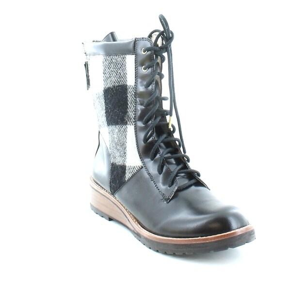 Matt Bernson Windsor Women's Boots Black/White - 5