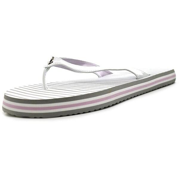 Nautica Eva Sandal Women Open Toe Synthetic White Flip Flop Sandal