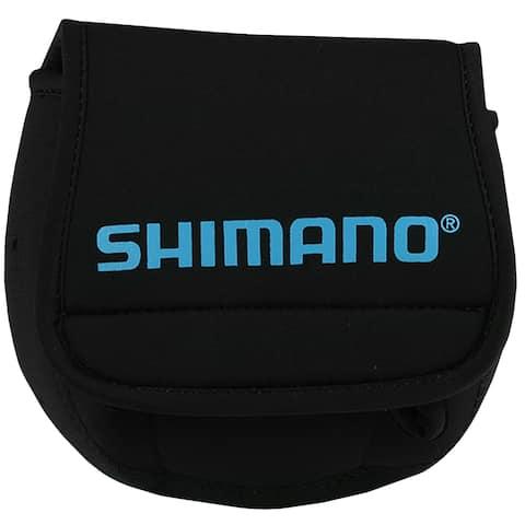 Shimano Neoprene Spinning Fishing Reel Cover - Black - S