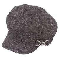 Womens Fashion Wool Newsboy Winter Cap