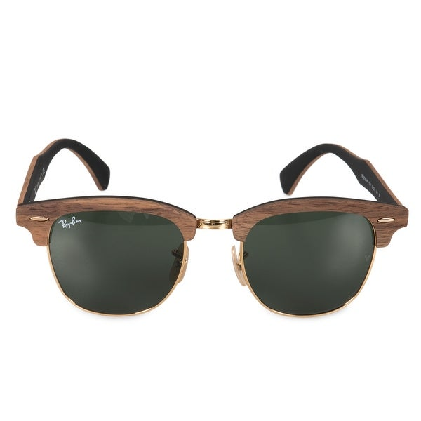a38940a107c08 Shop Ray-Ban Clubmaster Wood Sunglasses RB3016M 1181 51 - Free ...