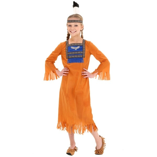 0c8af291fb Shop Child Native Indian Dress - Free Shipping On Orders Over $45 -  Overstock - 17852051