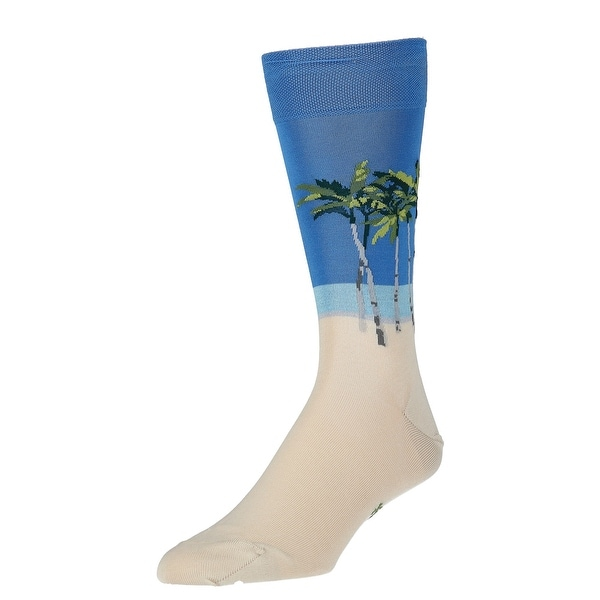 Marcoliani Men's Gift Boxed Tropical Print Trouser Socks