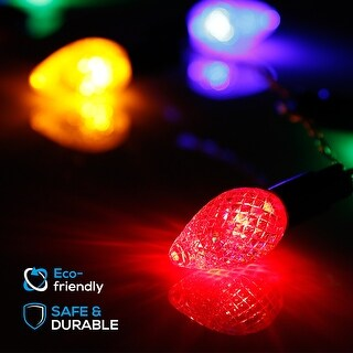 TORCHSTAR 50 LEDs Strawberry String Light, Party, Chtistmas