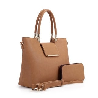 MKF Collection Quinn Tote Bag with Wallet/Wristlet by Mia K. Farrow