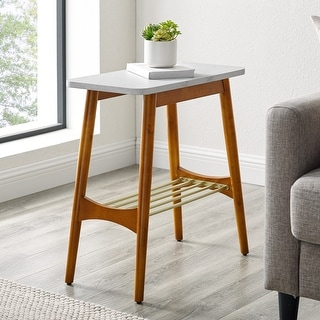 Link to Carson Carrington Tapered Leg Side Table Similar Items in Living Room Furniture