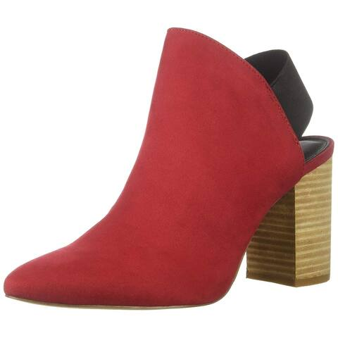 Madden Girl Womens Kourt Fabric Almond Toe Ankle Fashion Boots