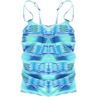 Profile by Gottex Womens Built-In-Bra Tankini Tankini Swimsuit - 38d