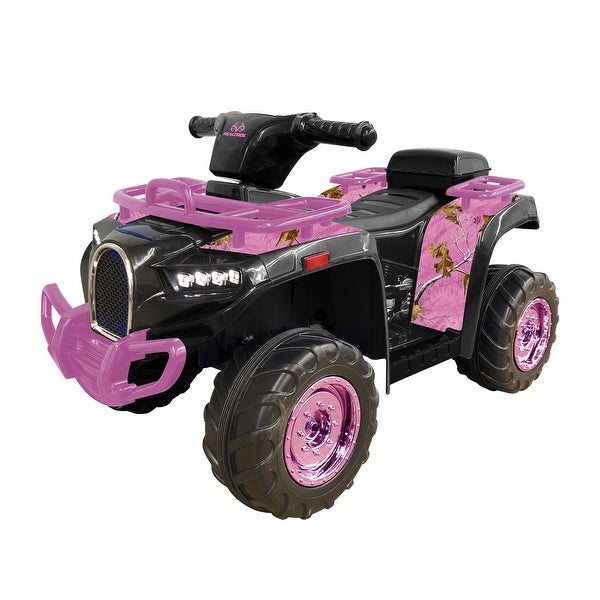 Realtree Pink and Black ATV. Opens flyout.