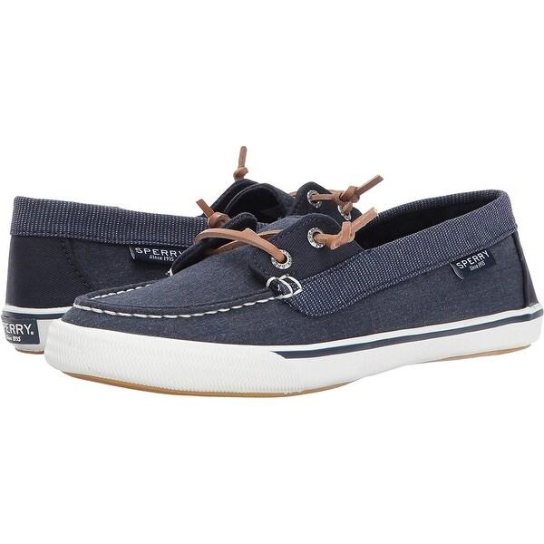 Lounge Away Sneaker, Navy - Overstock