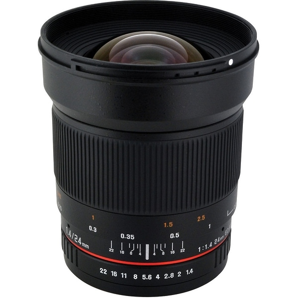Rokinon 24mm f/1.4 ED AS UMC Wide-Angle Lens for Nikon - Black