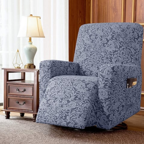 Subrtex Stretch Recliner Silpcover Jacquard Damask Lazy Boy Covers
