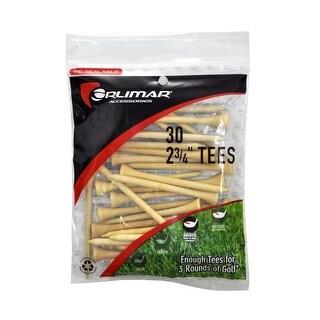 Orlimar 2 3/4-Inch Golf Tees 30-Pack (Natural)