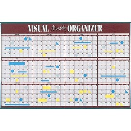 Monthly Organizer and  VISU-Board Planning System