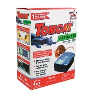 Tomcat 22580 Rat Killer Disposable Bait Station