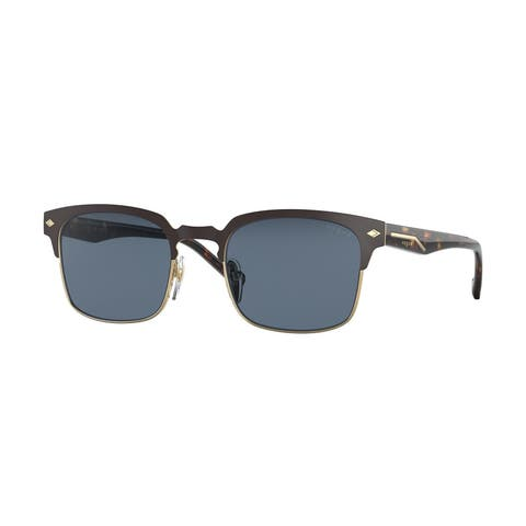 Vogue VO4194S 280S80 52 Top Brown Matte/gold Man Pillow Sunglasses