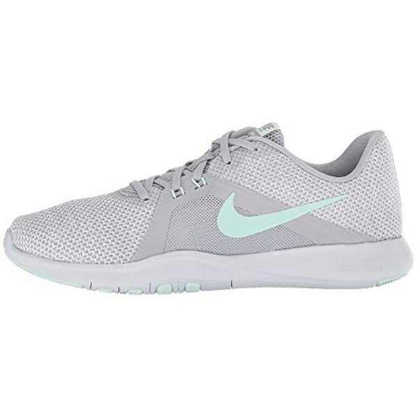 new style 6a7cb 455f3 Shop Nike Womens Flex Tr 8 Wide Wolf Grey Igloo White Platinum Size 7.5 -  Free Shipping Today - Overstock.com - 25630692