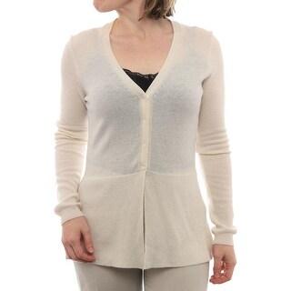 Cullen Long Sleeve V-Neck Cardigan Women Regular Sweater