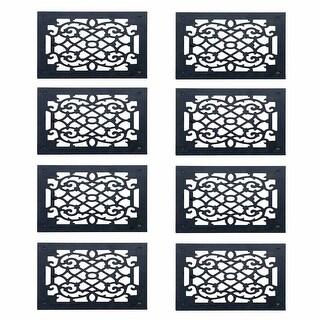 8 Heat Register Floor Vent Grate Cast Aluminum 9.5 x 11 3/8 Renovator's Supply
