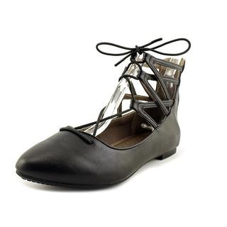 Rialto SONDRA Women  Pointed Toe Leather Black Flats