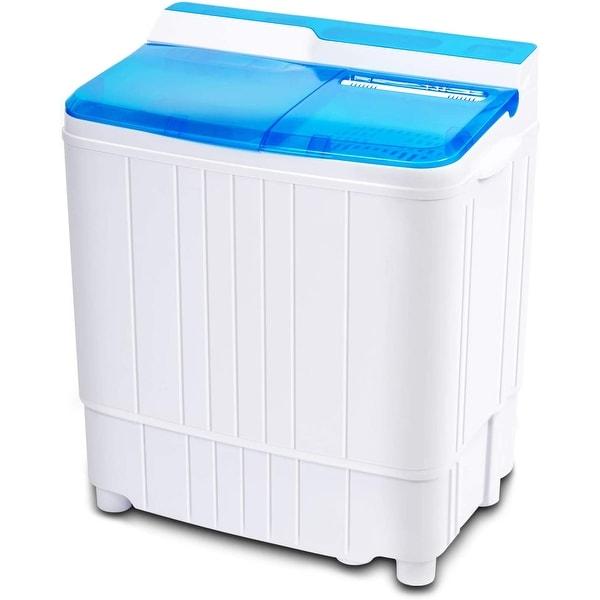 Suncrown Portable Mini Twin Tub Spin Dryer Combo Washing Machine