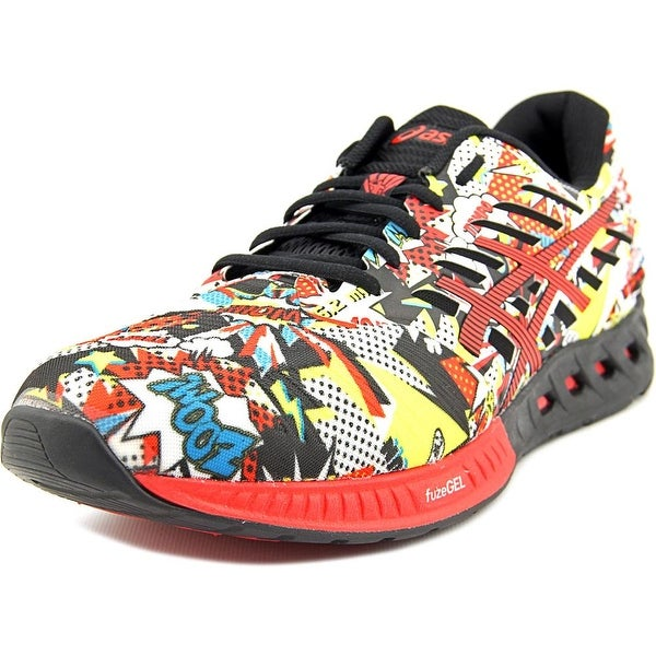 Asics FuzeX Men Round Toe Synthetic Multi Color Sneakers