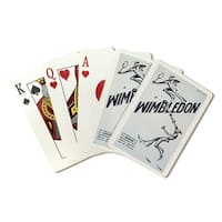 Wimbledon (Power) England 1933 - Vintage Ad (Poker Playing Cards Deck)