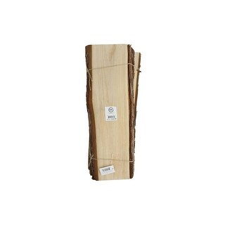 "SPC Wood Slices Rectangle 19"" Natural"