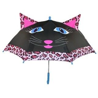 ShedRain Kids' Cat Character Stick Umbrella - riley cat - One Size