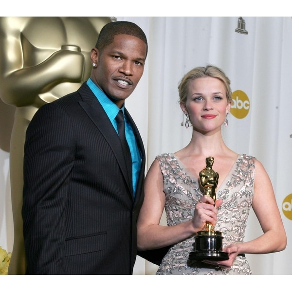 Shop Jamie Foxx Reese Witherspoon In The Press Room For Oscars 78Th Annual Academy Awards Kodak Theater Los Angeles Ca Sunday Mar