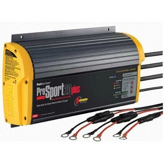 ProSport 20 ProMariner ProSport 20 Plus Gen 3 Heavy Duty Recreational Series On-Board Marine Battery Charger - 20 Amp - 3 Bank