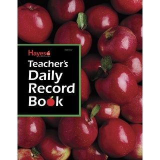 Hayes Teacher Daily Record Book