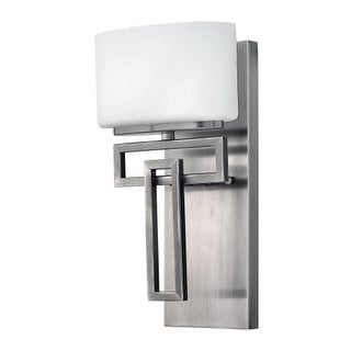 """Hinkley Lighting 5100-LED Lanza Single Light 7-1/4"""" Wide LED Bathroom Sconce with Frosted Glass"""