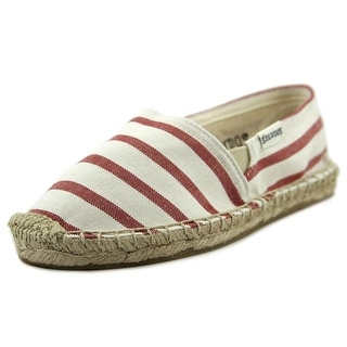 Soludos Original Espadrille Youth Round Toe Canvas White Espadrille