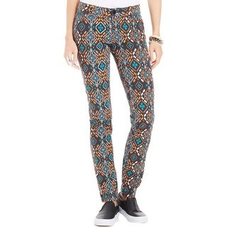 Celebrity Pink Womens Juniors Skinny Jeans Twill Pattern