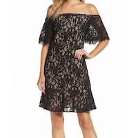 Eliza J Women's Off-Shoulder Lace Sheath Dress
