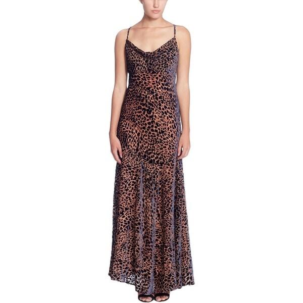 ae49525c1e58 Shop Catherine Malandrino Womens Maxi Dress Bias Cut Leapard Print - Free  Shipping On Orders Over $45 - Overstock - 25897482