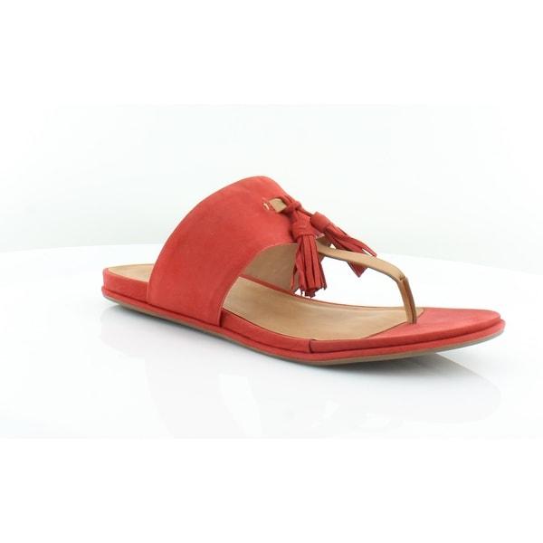 Gentle Souls Ottie Women's Sandals & Flip Flops Red - 10