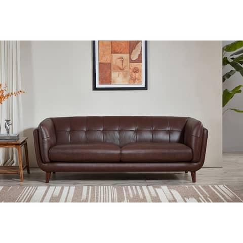 Hydeline Solana Top Grain Leather Sofa