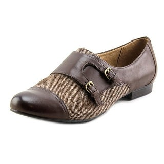 Naturalizer 2 Women W Round Toe Leather Brown Loafer